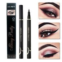 Liquid Lidstrich Pen Schwarz Waterproof Smudge-Proof Eye Liner Pencil Kosmetik