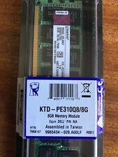 8GB RAM Kingston PC3 10600R DIMMs KTD-PE310Q8/8G (Dell Compatible)
