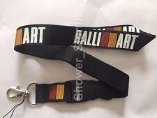 Ralliart Lanyard NEW Black UK Seller Car Keyring ID Holder Strap Mitsubishi
