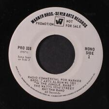 WATTS 103RD STREET RHYTHM BAND: In The Jungle, Babe Radio Commercial 45 (dj, 6