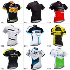 2020 Men's Cycling Jersey Short Sleeve Quick Dry Full Zipper Hiden Riding Shirt