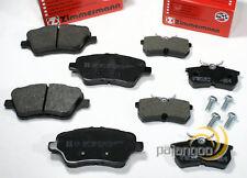 Ford Fiesta VI Unidad - Zimmermann Pastillas Freno de para Delantero Trasero