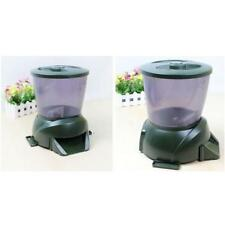 Automatic Pond Feeder Aquarium Fish 1-90 Days Programmable Feeding Schedule