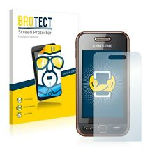 2x BROTECT Displayschutzfolie Samsung GT-S5230 Schutzfolie Displayfolie Folie