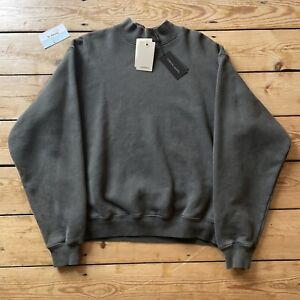 Yeezy Season 6 Mockneck Core Crewneck Sweatshirt