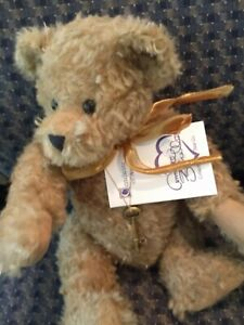 Annette Funicello bear Keylee, with tags, mohair