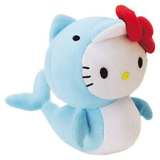 Hello Kitty Mascot Size Marine Plush  - Dolphin - **LESS THAN HALF PRICE**