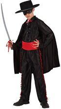 Déguisement Garçon ZORRO 10/11/12 ans Costume Enfant Dessin Animé Disney Héro