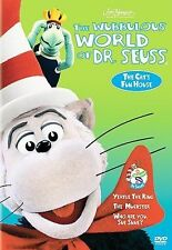 NEW SEALED The Wubbulous World of Dr.Seuss - The Cats Fun House  (DVD)
