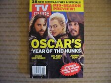 TV GUIDE 2/26-3/5 2004-LORD OF RINGS/PIRATES OF CARRIBEAN HUNK STARS-GLOSSYNICE!