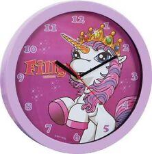 Filly Wanduhr Uhr Einhorn Unicorn Einhorn Wanduhr ROSA Neu OVP 30 cm Pony