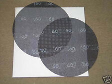 """13"""" 60 Grit Floor Sanding Screens, Case of 10 VA Discs"""