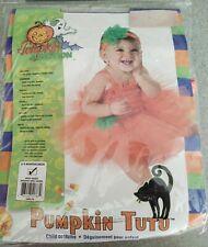Pumpkin Junction Tutu Baby Halloween Costume for Infant 6-9 months NEW
