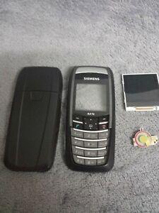 Siemens AX72 Handy Gehäuse schwarz #1 BC phone case cover housing key black