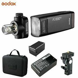 Godox Ad200pro TTL 2.4g HSS 200ws Pocket Flash Light 14.4v/2900mah Battery