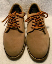 THE LEATHER COLLECTION men's suede dress shoes, sz. 9.5M