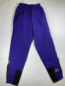 Cannondale Cycling Pants Women's Sz S  (24-32x29) Purple Nylon USA Vintage