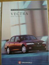 Vauxhall Vectra range brochure 1997 models ed 2