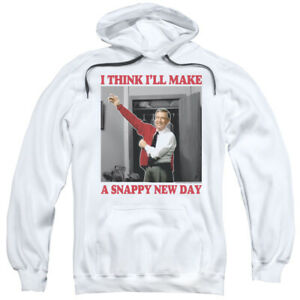 """Mr. Rogers' Neighborhood """"A Snappy New Day"""" Hoodie or Long Sleeve T-Shirt"""