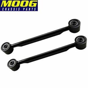 SET OF (2) MOOG RK660155 REAR UPPER TRAILING ARMS FOR TRAILBLAZER ENVOY RAINIER