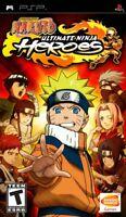 Naruto: Ultimate Ninja Heroes  PSP Game Only
