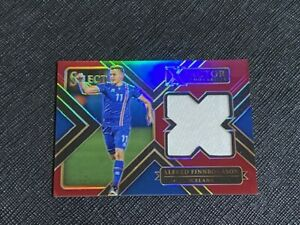 2017 Select Alfred Finnbogason SP Red Prizm Jersey Card /199