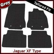 JAGUAR XF Mk1 2008-2015 completamente montato su misura moquette tappetini Grigio