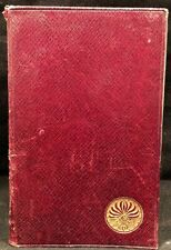 Essays 1st & 2nd Series by Ralph Waldo Emerson 1906 Edition H/C Reprint 6/1920