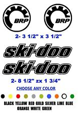 Brp ski-doo Snowmobile decal sticker Any Color