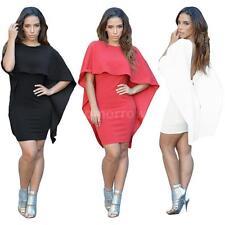 Clubwear Stretch, Bodycon Batwing Dresses for Women