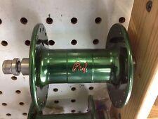 PHILLWOOD track hub Front GREEN color high flange