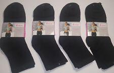 6 Pares calcetines deportivos. Largos. Mujer. Algodón. Negro. Talla 35 / 40.