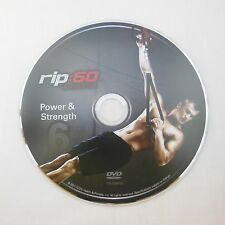 rip:60 Power & Strength Workout DVD Exercise rip 60 Suspension | TRX Gold's Gym
