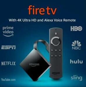 Amazon Fire TV Streaming Media Player, 3rd Gen with 4K Ultra HD, Alexa Remote