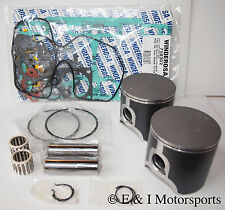 2006 SKI-DOO REV 600 HO SDI *SPI PISTONS,BEARINGS,TOP END GASKET KIT* 72mm BORE