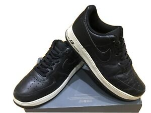 Mens Nike Air Force 1 Trainers Size 9 Black