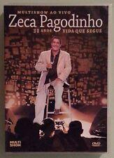 zeca pagodinho  30 ANOS VIDA QUE SEGUE  multishow ao vivo   DVD
