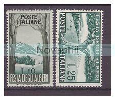 ITALIA  1951 - ALBERI   SERIE  NUOVA **