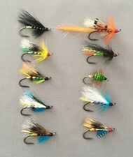 The Best Atlantic Salmon Fly Set - Top 10 Fly MULTI-PACK - Sizes 4, 6 and 8