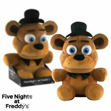 New Five Nights At Freddy's Freddy 16 Inch Plush w/ Tray FNAF Funko Official
