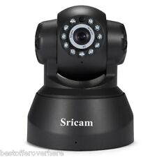 Sricam SP012 720P H.264 Wifi 1.0 Megapixel  ONVIF Security IP Camera TF EU PLUG