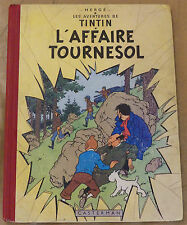 TINTIN -18- / L'affaire Tournesol/ EO Fr. B19 1956 / BE