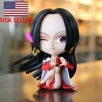 One Peace Anime/ Pirate Empress Boa Hancock PVC Doll Collection Toy Gift Box/New