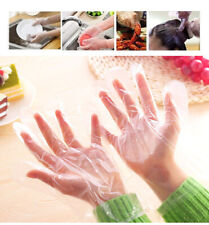 1000 x Cheap Plastic GLOVES Disposable PREMIUM POLYTHENE Catering Food Mechanics