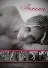 Annina Ucatis (Erotik) Rückseitig handsigniert - Autogrammkarte 10x15cm/Farbe