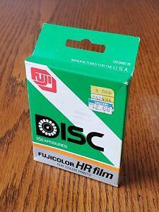 Fuji, Fujicolor HR Disc Film, 15 Exposures, Expired 1988, Sealed.