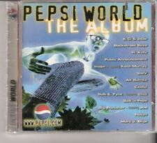 PEPSI WORLD THE ALBUM - COOLIO; R KELLY; MARY J BLIGE; BACKSTREET BOYS; KEITH MU