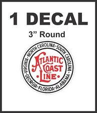 Atlantic Coast Line Railroad Rail Road Decal Diorama Train - Never Any Pixels!!