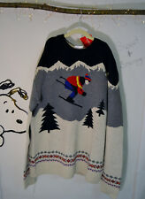 Boys or Girls 13 Teen  Skiers Sweater SOFT Cotton & Merino Hanna Andersson NWT