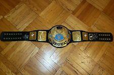 WWF Attitude Era Big Eagle Championship Wrestling Belt Adult Signed
